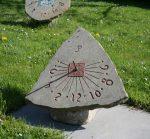 sluneční hodiny 1702